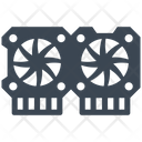 Video Card Chip Video Icon