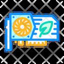 Video Card Mining Icon