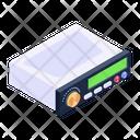 Vcr Multimedia Drive Room Icon