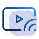 Video Cast Transmission Icon