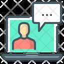 Vlog Video Communication Vlog Icon