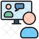 Video Call Message User Icon