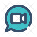 Message Chat Video Icon
