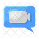 Video Chat Video Communication Video Message Icon