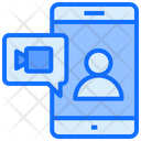 Video Chat Mobile Video Call Icon