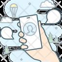 Talk Conversation Message Icon