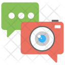 Video Chat Live Icon