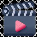 Clapper Action Clapper Clapperboard Icon