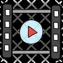 Film Reel Movie Reel Video Reel Icon