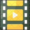 Video Clip Video File Movie Clip Icon