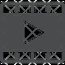 Video Media Clip Icon
