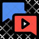 Video Comment Chat Comment Icon