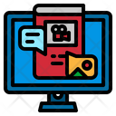Content Book Computer Icon