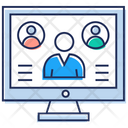 Video Conference Video Call Video Collaboration Icon