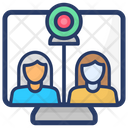 Video Conference Video Call Video Chat Icon