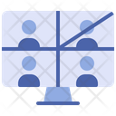 Video Conference Online Meeting Video Call Icon