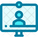 Video Conference Video Video Call Icon