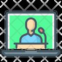 Video Conference Online Conference Conference Icon