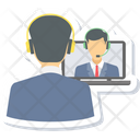 Video Conference Chat Video Icon