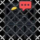 Video conference webinar Icon