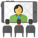 Video Conferencing Video Chat Icon