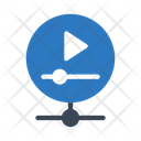 Video Sharing Network Icon