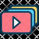 Video Content Icon
