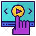 Online Video Course Icon