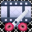 Video Cut Video Editing Film Editing Icon