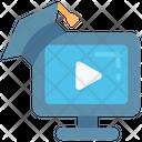 Video Degree Course Icon