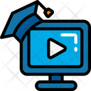 Video Degree Course Icon