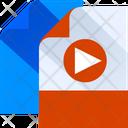 Video Document Video File Media File Icon