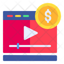 Video Earning Icon