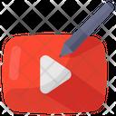 Video Edit Clip Editing Video Montage Icon