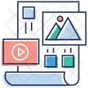 Video Editing Refine Amendment Icon