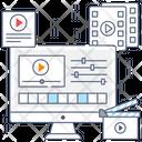 Video Editing Icon