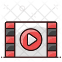 Video Editing Video Strip Video Film Icon