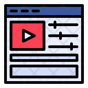 Video Editing Film Editing Filmmaking Icon