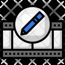 Video Editing Edit Tools Pencil Icon