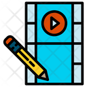 Video Edition Video Editing Icon