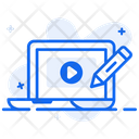 Video Editor Clip Montage Clip Editing Icon