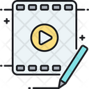 Video Editor Video Editing Video Montage Icon