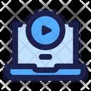 Video Education Video Guide Video Lesson Icon