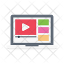 Video Education Online Icon