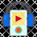 Audio Media Earphone Icon
