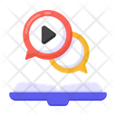 Video Education Video Learning Online Learning Icon
