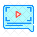 Video Review Color Icon