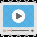 Video File Player Icon