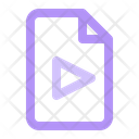 Document File Play Icon