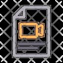 File Recording Document Icon
